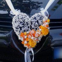 """Noma-Auto dekors """"Oranžā Sirds"""""""