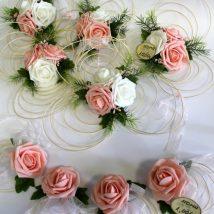 """Noma-Auto dekors """"Oranžā roze"""""""